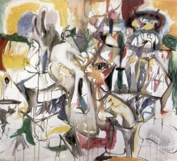 How My Mother's Embroidered Apron Unfolds in My Life | Arshile Gorky | oil painting