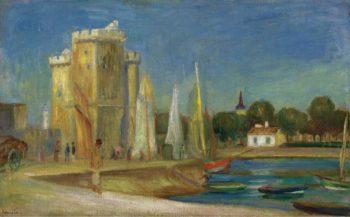 The Port of La Rochelle 1896 | Pierre Auguste Renoir | oil painting