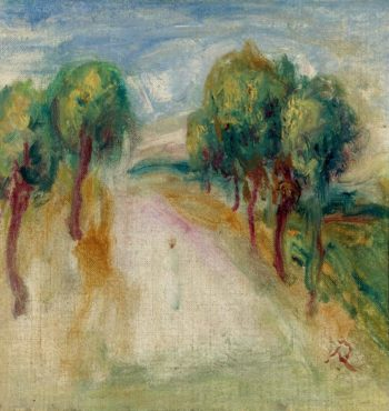 The Shady Path | Pierre Auguste Renoir | oil painting