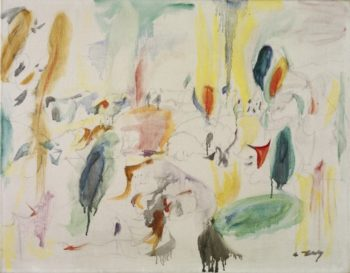 Landscape | Arshile Gorky | oil painting
