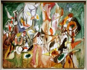 One Year the Milkweed | Arshile Gorky | oil painting