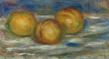 Three Lemons 1915 | Pierre Auguste Renoir | oil painting
