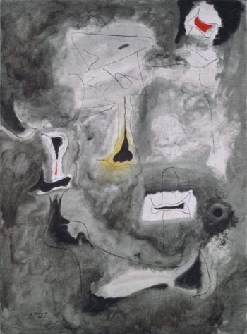 Charred Beloved II | Arshile Gorky | oil painting