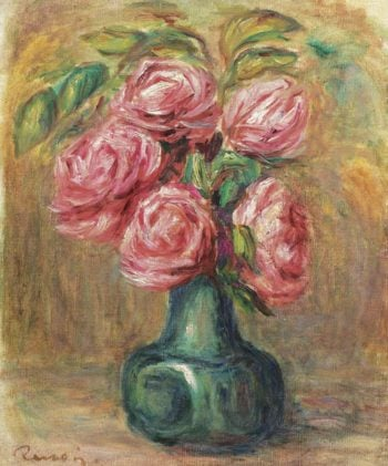 Vase of Flowers | Pierre Auguste Renoir | oil painting
