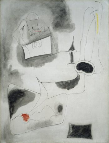 Nude | Arshile Gorky | oil painting