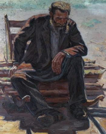 A moment's rest | Emmanuel Zairis | oil painting