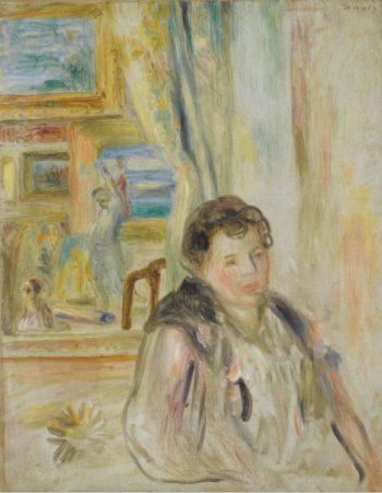 Woman in the Interior | Pierre Auguste Renoir | oil painting