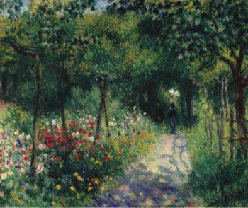 Women in the Garden 1873 | Pierre Auguste Renoir | oil painting