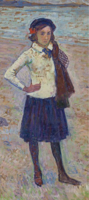 Elisabeth van Rysselberghe | Theo van Rysselberghe | oil painting