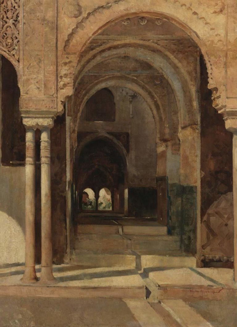 LAlhambra 1884 | Theo van Rysselberghe | oil painting