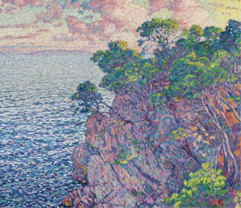 La Pointe du Rossignol (Cap Layet) 1905 | Theo van Rysselberghe | oil painting