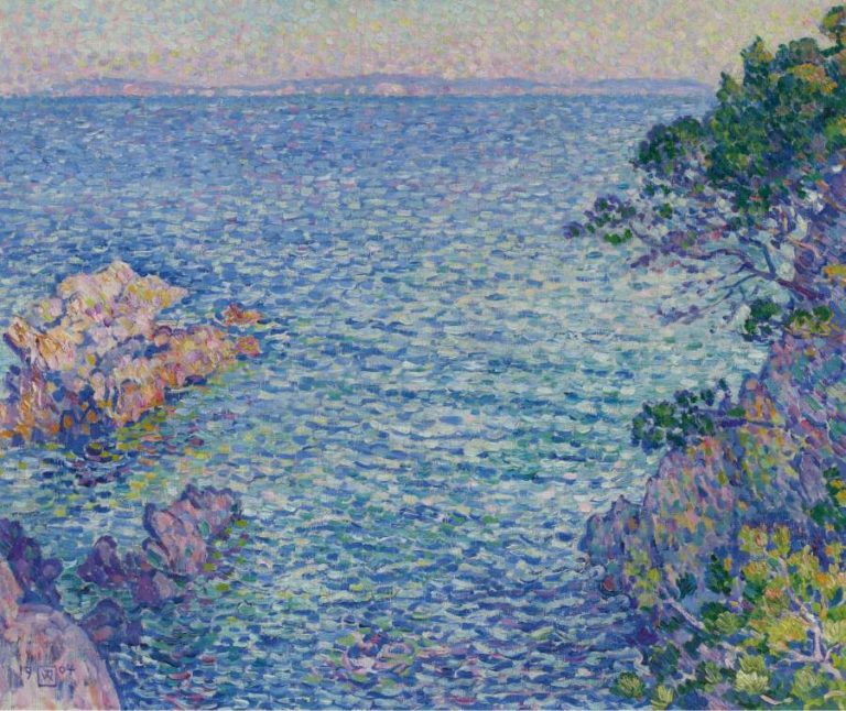 La Pointe du Rossignol 1904 | Theo van Rysselberghe | oil painting