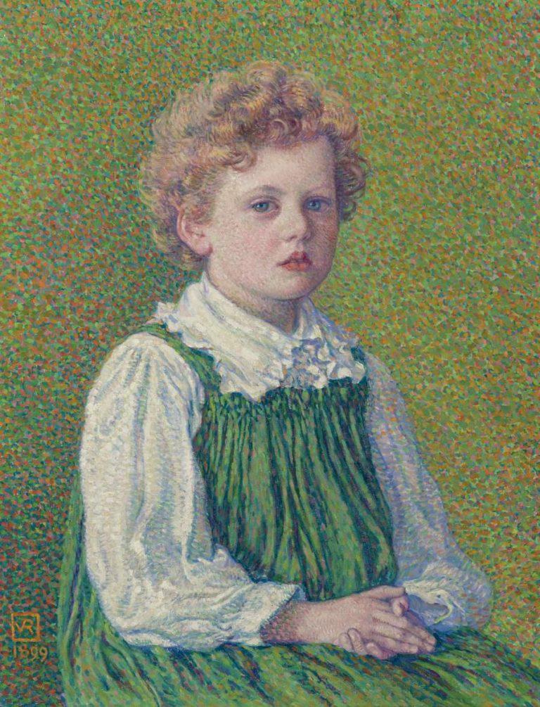 Margery 1899 | Theo van Rysselberghe | oil painting