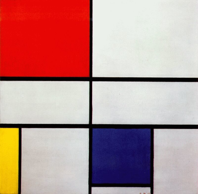 Composition C (No.III) with Red