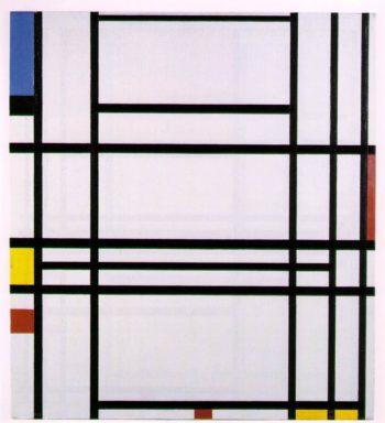Composition No.10 | Piet Mondrian | oil painting