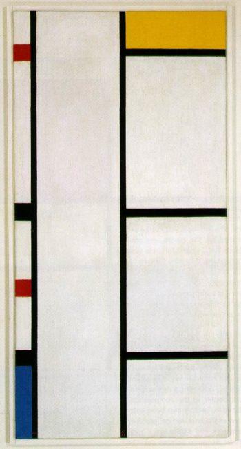 Composition No. III Blanc-Jaune | Piet Mondrian | oil painting