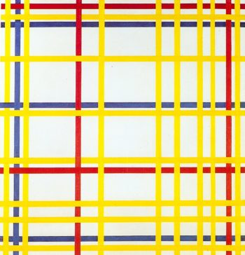 New York City I | Piet Mondrian | oil painting