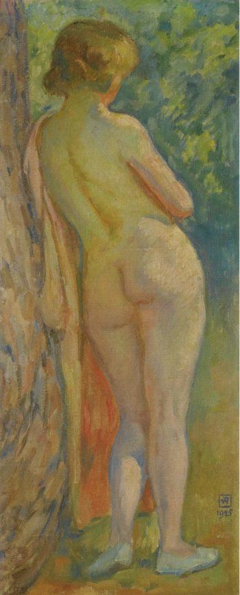 Standing Nude 1925   Theo Van Rysselberghe   oil painting
