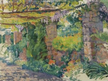 The Arbour 1911 | Theo van Rysselberghe | oil painting