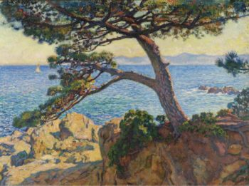 The Pin of Fossette 1919 | Theo van Rysselberghe | oil painting