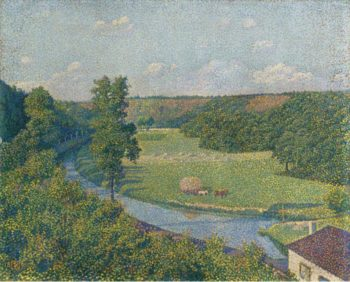 The Valley of the Sambre 1890 | Theo van Rysselberghe | oil painting