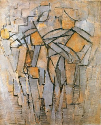 not identified | Piet Mondrian | oil painting