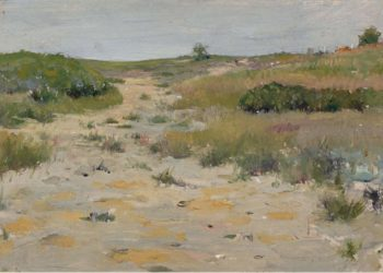 View of Shinnecock Hills | William Merritt Chase | oil painting