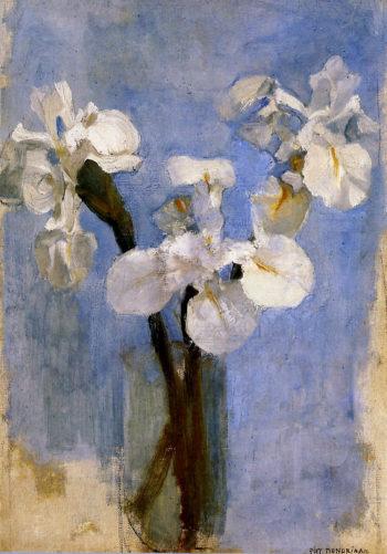 Flowers Sun | Piet Mondrian | oil painting