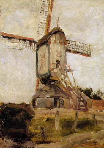 Mill of Heeswijk Sun | Piet Mondrian | oil painting