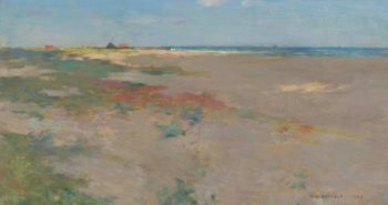 On the Suffolk Coast 1885 | Willard Leroy Metcalf | oil painting