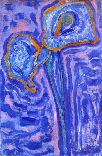 Sun | Piet Mondrian | oil painting