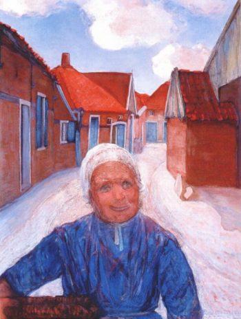 On the Lappenbrink | Piet Mondrian | oil painting