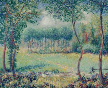 Trees at Giverny | Theodore Earl Butler | oil painting