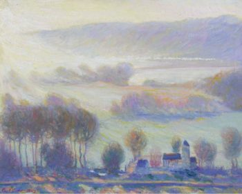 Valley at Giverny the Old Mill 1903 | Theodore Earl Butler | oil painting