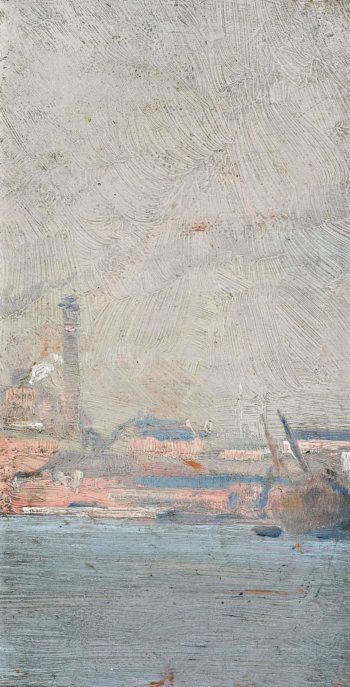 Sydney Harbour 1897 | Tom Roberts | oil painting