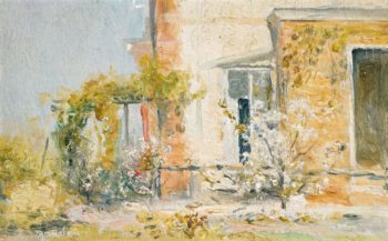 The Eyrie 1913 | Tom Roberts | oil painting