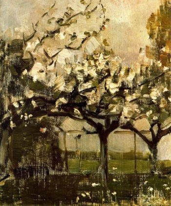 Alberi | Piet Mondrian | oil painting