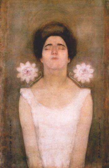 Passionflower | Piet Mondrian | oil painting