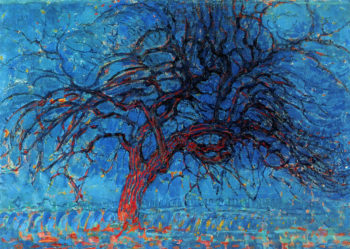 Avond (Evening): The Red Tree | Piet Mondrian | oil painting