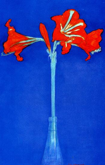 Amaryllis | Piet Mondrian | oil painting