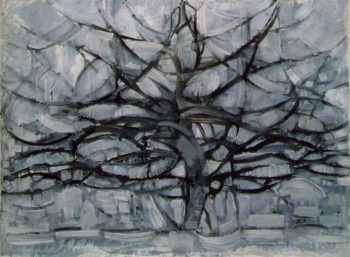 The Gray Tree | Piet Mondrian | oil painting