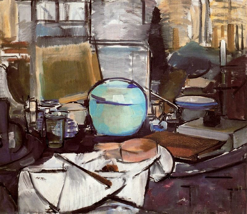 Still Life with Gingerpot 1 | Piet Mondrian | oil painting