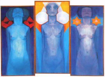 Evolution | Piet Mondrian | oil painting
