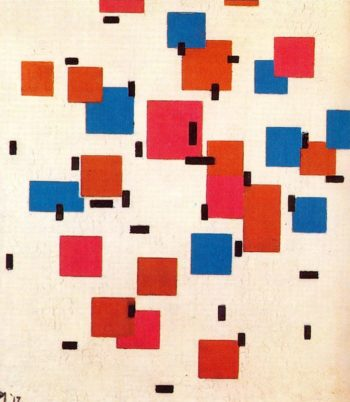 Composition in Color A   Piet Mondrian   oil painting