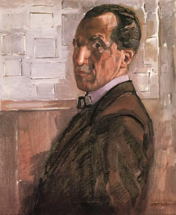 Self Portrait | Piet Mondrian | oil painting