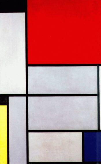 Tableau I | Piet Mondrian | oil painting