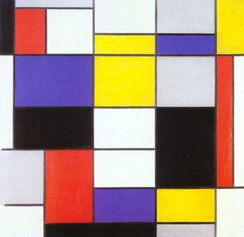 Composition A | Piet Mondrian | oil painting