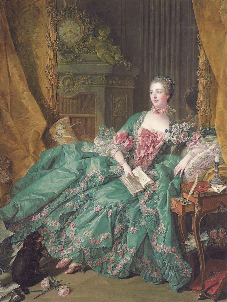 Madame Pompadour | Francois Boucher | oil painting