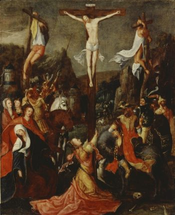 Crucifixion | Unknown Artist | oil painting