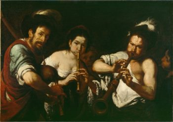 Street Musicians | Unknown Artist | oil painting